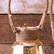Silver Mercury Hanging Lanterns