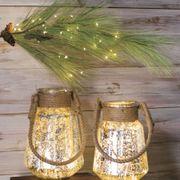 Copper Indoor/Outdoor Starry Cascading Lights Alternate Image 2