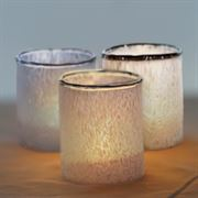 Glass Tealight Set