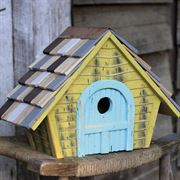 Prairie Bird House - Yellow