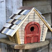 Prairie Bird House - Natural