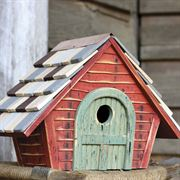 Prairie Bird House - Redwood