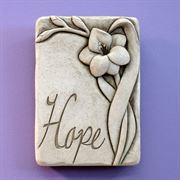 Hope Gladiola Botanical Plaque