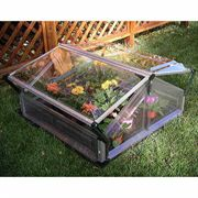 Venting Double Coldframe