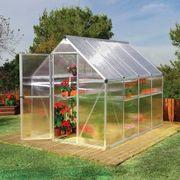 Nature Greenhouse 6' x 8' Silver