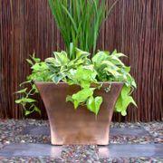 Mod Planter - Copper Finish