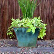 Mod Planter - Antique Finish