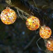 Solar Glass String Lights