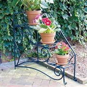 Peacock Steps Plant Stand