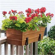 Copper Plated Window Box