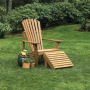 Craftsman Adirondack Chair and Ottoman