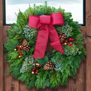 Balsam and Berry Evergreen Wreaths