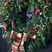 Home for Christmas Noble Fir Wreath