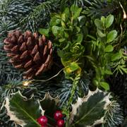 Holiday Greetings Wreath