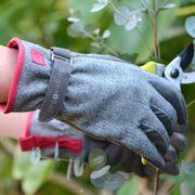 Gray Tweed Glove