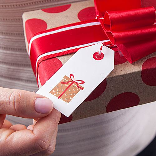 Customizable Paper Gift Tags