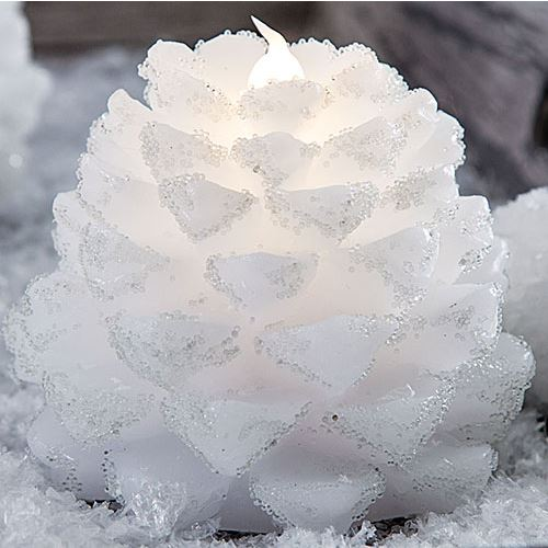 Snow Cones LED Candle