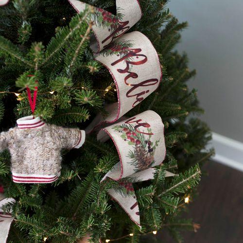 Believe In Christmas Tree