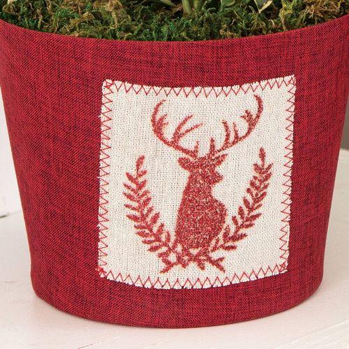 Reindeer Games Holly Centerpiece