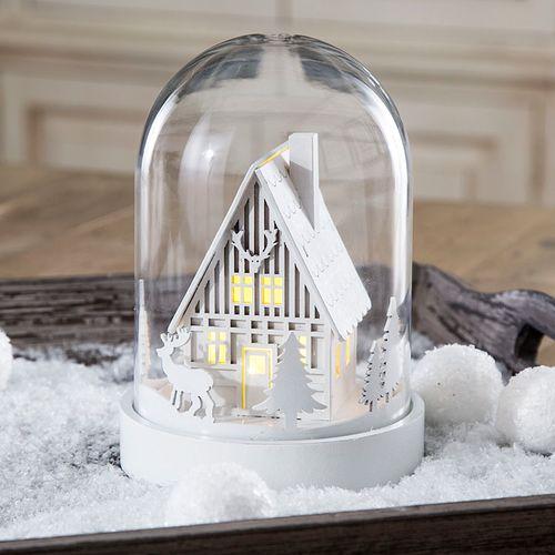 Illuminated Snowy Scene - Set of 2