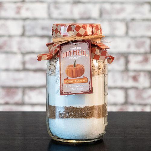 Pumpkin Oatmeal Cookie Mix
