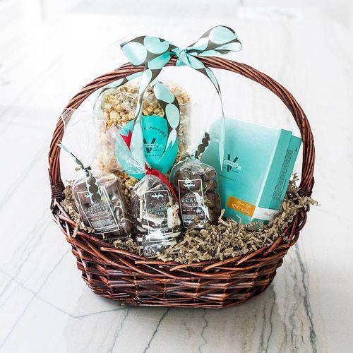V Chocolates Sweet Basket