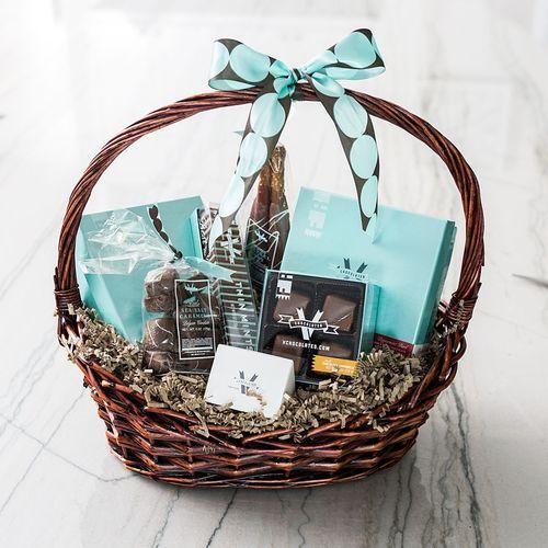 V Chocolates Thoughtful Basket