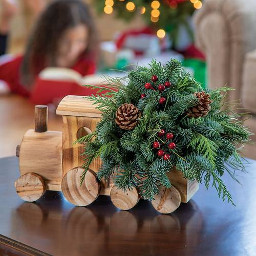 Holiday Delivery Centerpiece