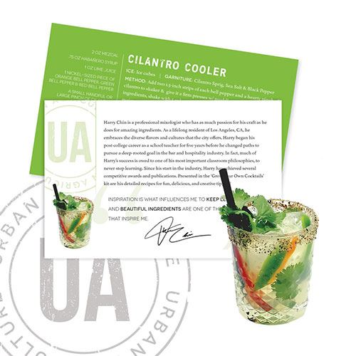 Cilantro Cooler Cocktail Kit