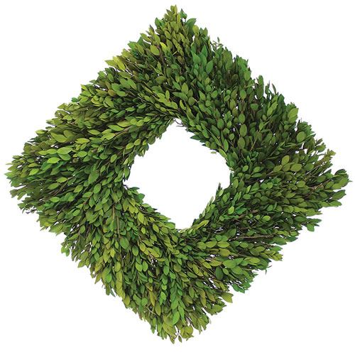 Square Myrtle Wreath