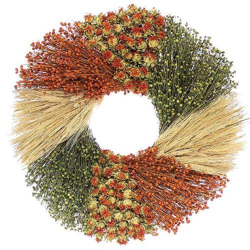 22-Inch Autumn Sunrise Wreath