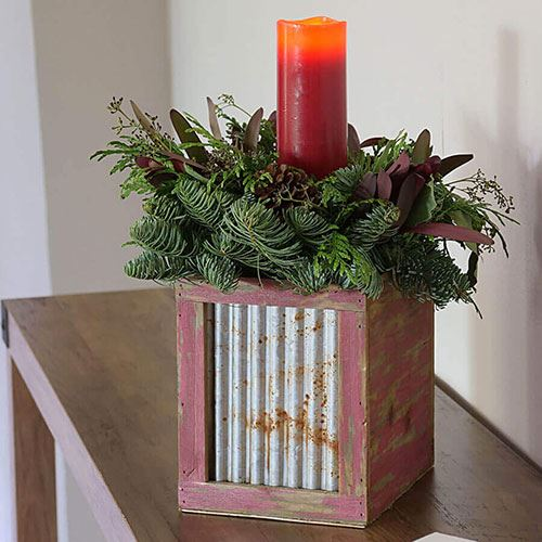 Rustic Centerpiece Gift