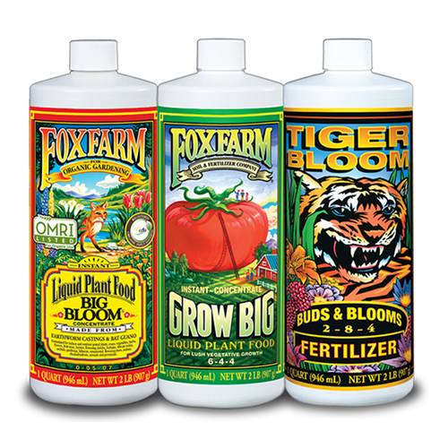 FoxFarm Liquid Fertilizer Trio