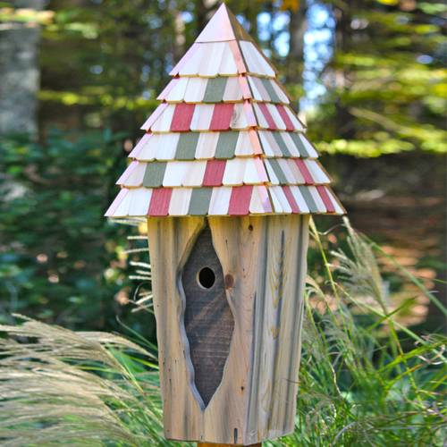 Vintage Bluebird Bird House