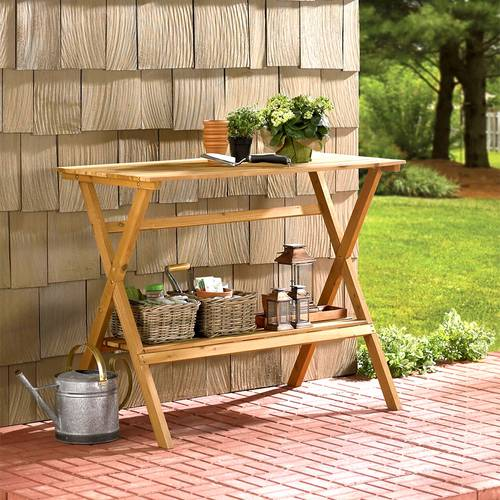 Console Table / Potting Bench