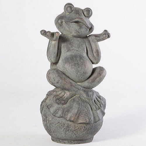 Carefree Frog Garden Statue