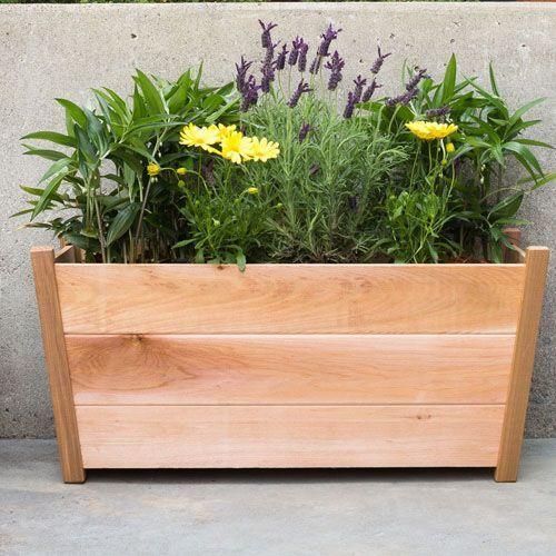 Western Cedar Planter (Rectangular)