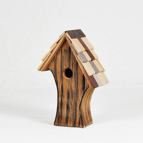 Nottingham Bird House with Shingled Roof