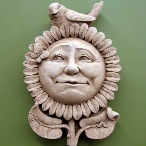 Sunflower Morning Plaque