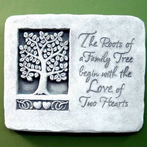 Roots of Love Plaque