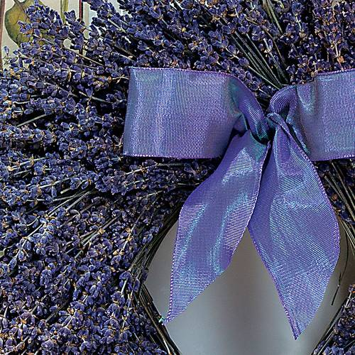 Dried Fragrant Lavender Wreath 12-inch