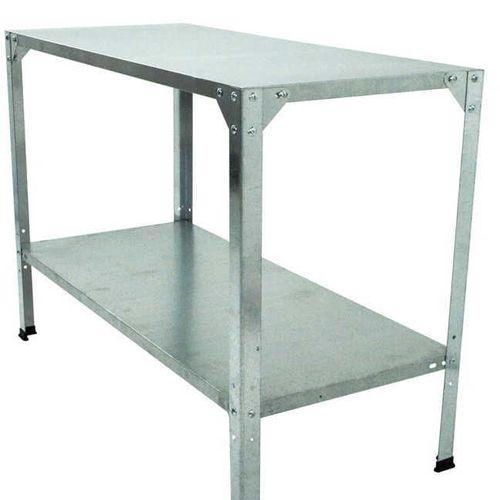 2-Shelf Steel Work Bench