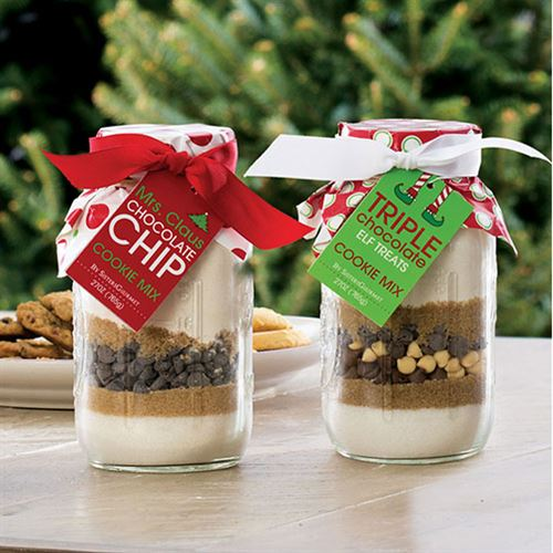 Merry and Bright Triple Chocolate Elf Treats Mix