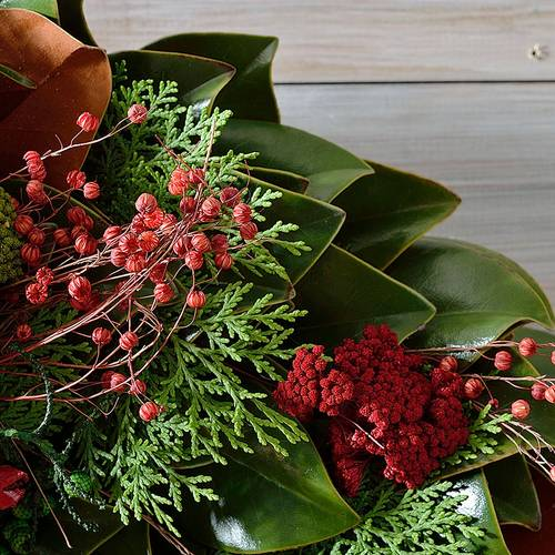 Season's Bounty Wreath 24 Inch