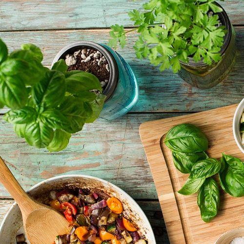 Italian Herbs Garden Jar - 3PK