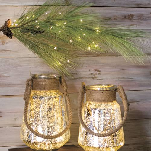 Copper Indoor/Outdoor Starry Cascading Lights