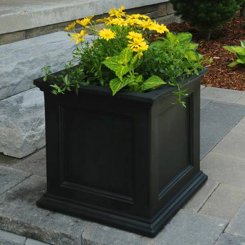 Square Fairfield Patio Planter From Jackson Amp Perkins