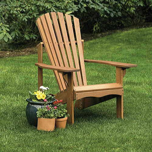 Craftsman Adirondack Chair and Ottoman