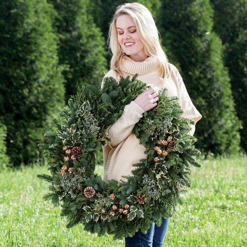 Winter Woods Wreath