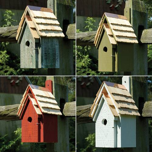 Bluebird Cottage Bird House